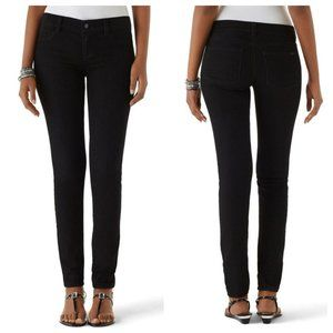 White House Black Market Noir Black Skinny Jeans